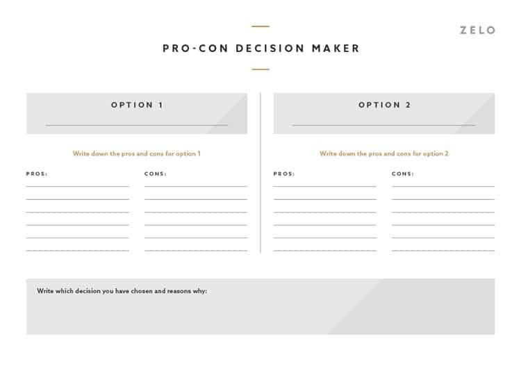 Pro-Con-Decision-Maker